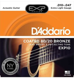 DAddario Coated 80/20 Bronze