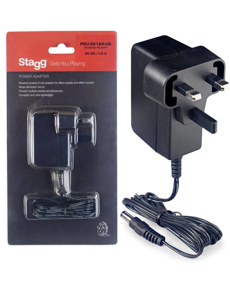 Stagg Power Adaptor, PSU-9V1AR-UK