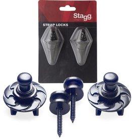 Stagg Strap Locks, SSL1 BK