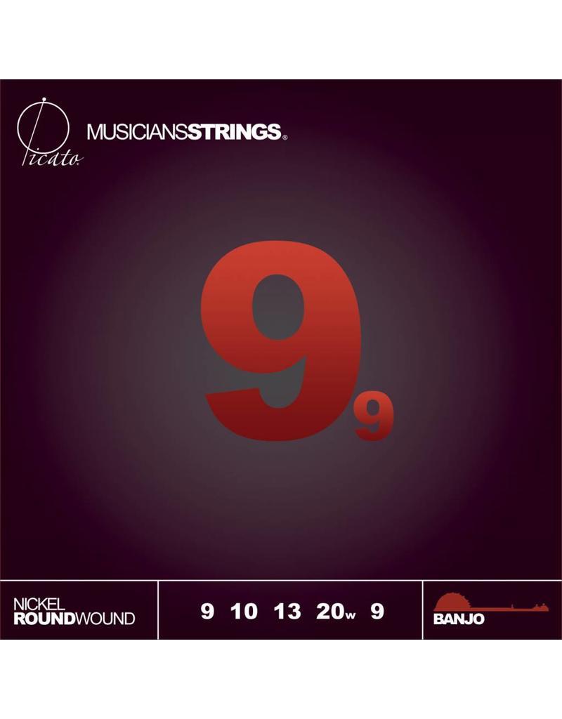 Picato Nickel 5-String Banjo, 9-20, 98745