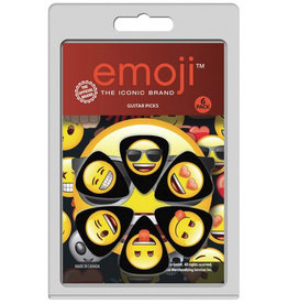 Perri's Emoji Picks, 6 Pack, LP-EMO1