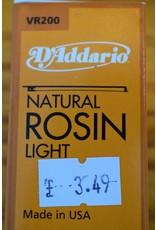 DAddario Natural Rosin, Light