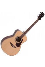Vintage Folk Guitar, Solid Top, Natural, V300