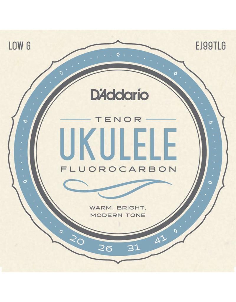 DAddario Tenor Ukulele, Low G, EJ99TLG