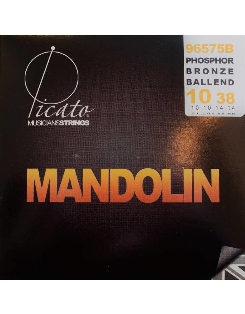 Picato Phosphor Bronze Ballend Mandolin, 10-38. 96575B