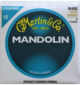 Martin & Co Mandolin, 80/20 Bronze, 8 Strings, Standard, M400