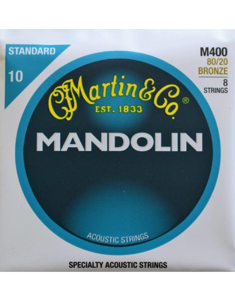 Martin & Co Mandolin, 80/20 Bronze, 8 Strings, Standard, M400