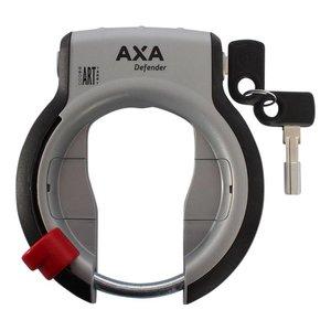 Rahmenschloss AXA Defender mit klappbarem Schlüssel (schwarz/silber)