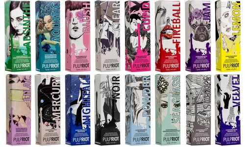 Pulp Riot kleurlijn