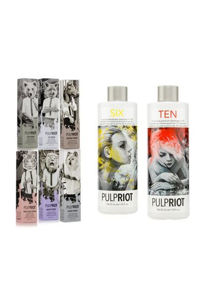 Pulp Riot High Speed Toner Prof Set