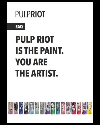 Pulp Riot FAQ