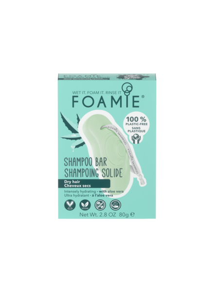 Foamie Shampoo Bar - Aloe You Vera Much