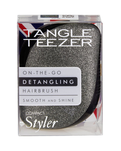 Tangle Teezer COMPACT STYLER - BLACK SPARKLE
