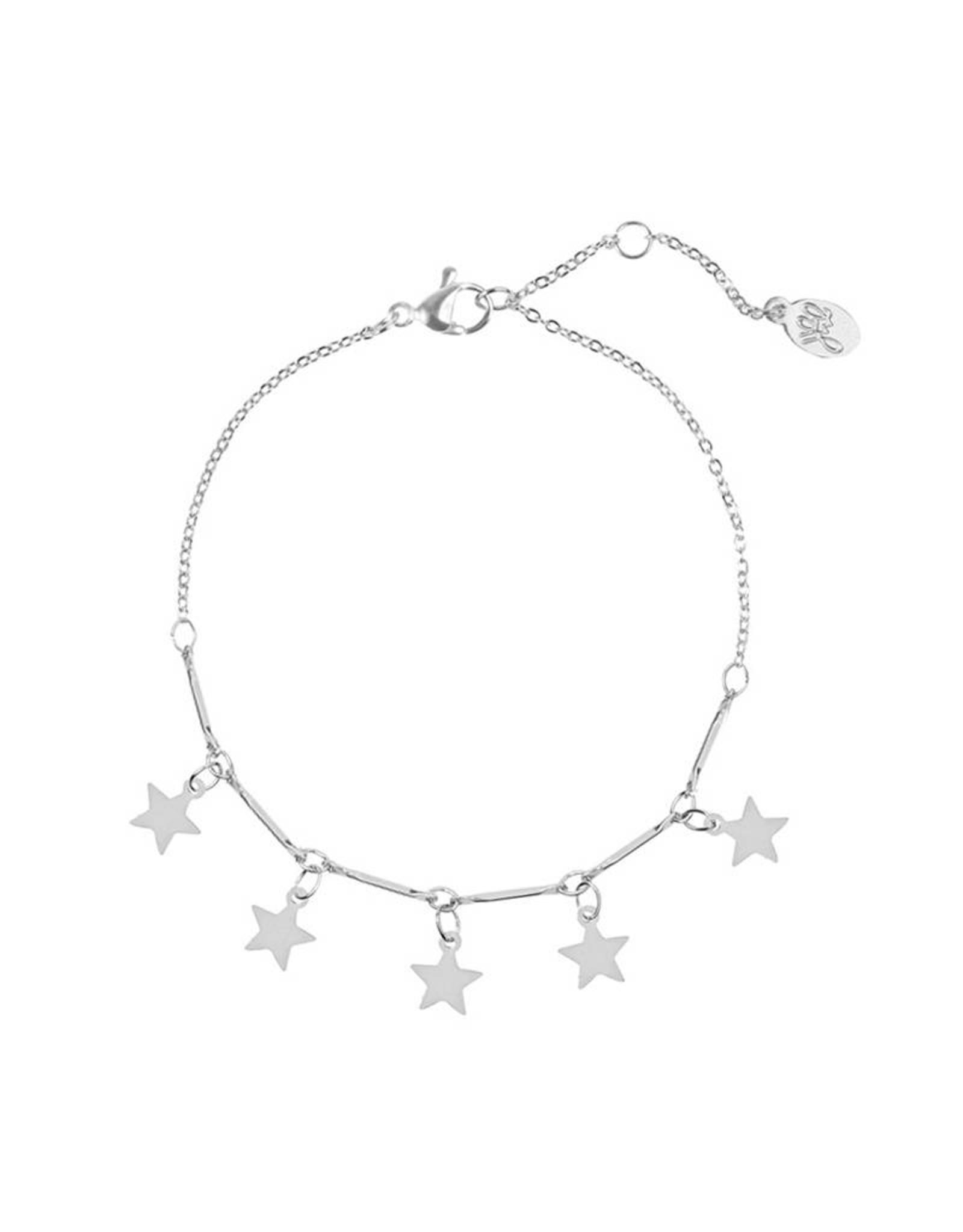 Star armband zilver