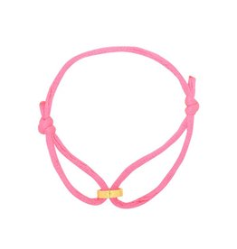 Bracelet Circle of Love roze