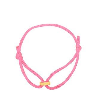 Bracelet Circle of Love roze