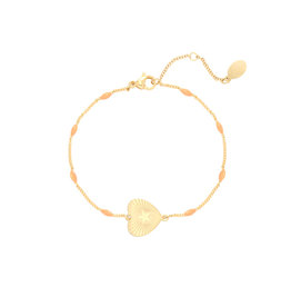Beating Heart Bracelet Orange