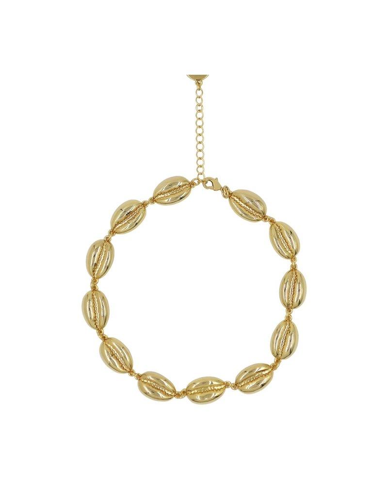 Shell Bracelet Gold
