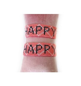Armbandje happy