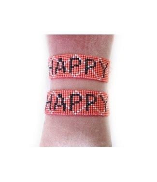 Armbandje happy