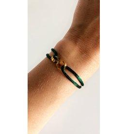 Love Bracelet Groen Goud