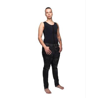 Danae Trans-Missie Singlet binder zipper