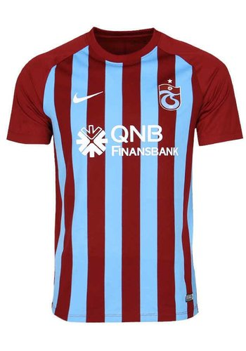 Trabzonspor Nike Kinderen Gestreept Voetbalshirt 17-18