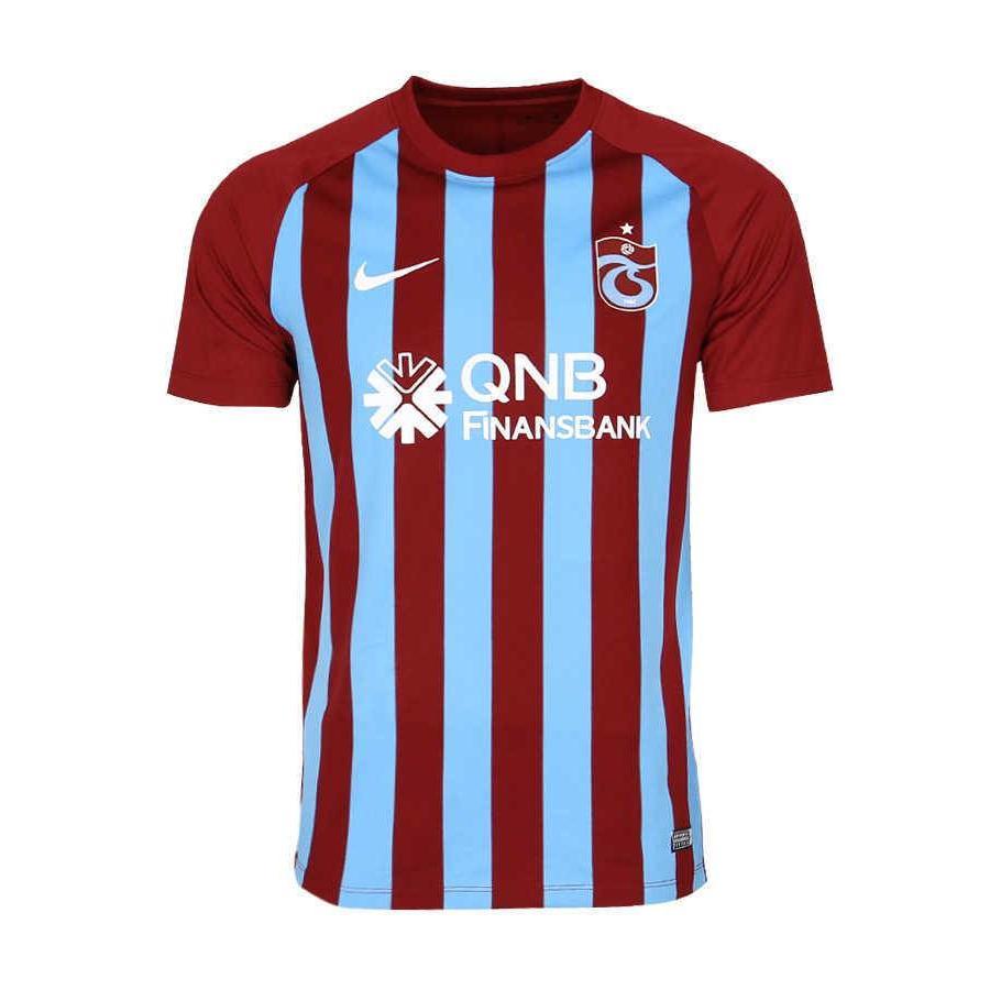 Trabzonspor Nike Kids Striped Football Shirt 17-18