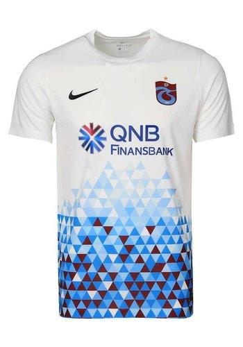 Trabzonspor Nike Kinderen Wit Voetbalshirt 16-17