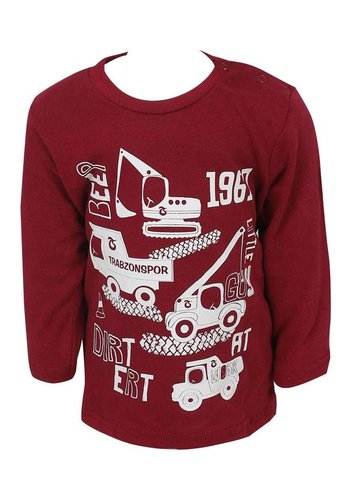 SWEATSHIRT BORDO