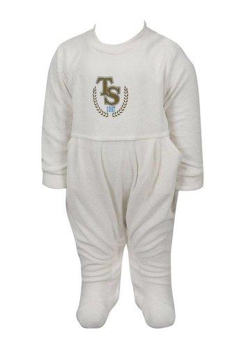 Trabzonspor Weiss Babystrampler