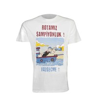 Trabzonspor Beige 'Temel Reis' T-Shirt (ROTAMIZ ŞAMPİYONLUK ! VAZGEÇME !)