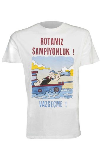 TEMEL REİS TSHIRT EKRU (ROTAMIZ ŞAMPİYONLUK! VAZGEÇME!)