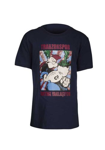 Trabzonspor Marineblau 'Temel Reis' T-Shirt (FIRTINA YAKLAŞIYOR)