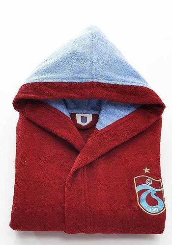 Trabzonspor Kids Burgundy Bathrobe