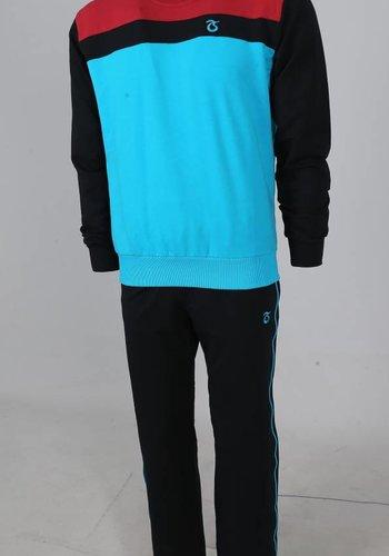 Trabzonspor Survêtement Tricoté Turquoise