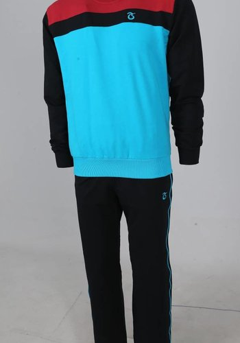 Trabzonspor Turquoise Gebreid Trainingspak