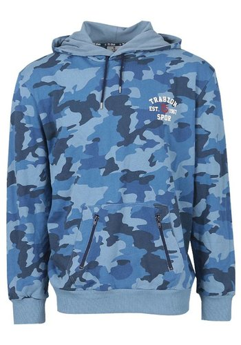 Trabzonspor Marineblauw Hooded Sweater