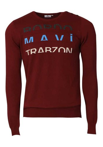 Trabzonspor Burgundy-Anthracite Sweater