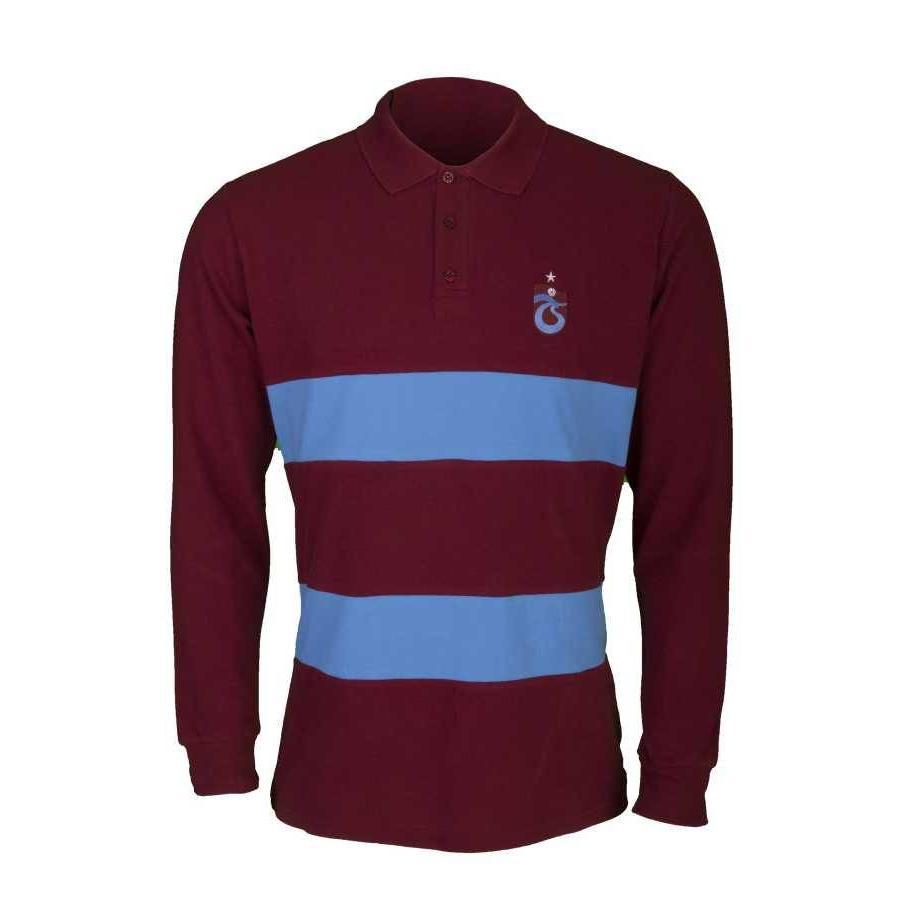 Trabzonspor Bordeaux T-Shirt Lange Mouwen
