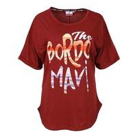 Trabzonspor Bordeauxrot T-Shirt