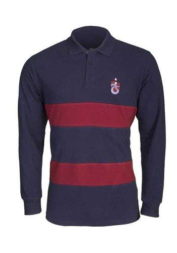 Trabzonspor Marineblauw T-Shirt Lange Mouwen