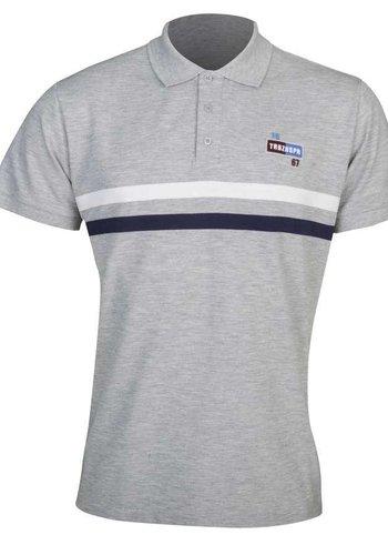 Trabzonspor Grey Melange Polo T-Shirt
