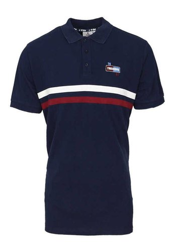 Trabzonspor Marineblau Polo T-Shirt