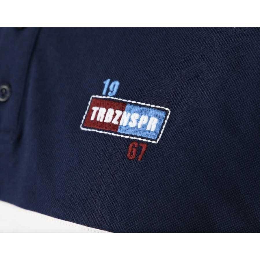 Trabzonspor Marineblauw Polo T-Shirt