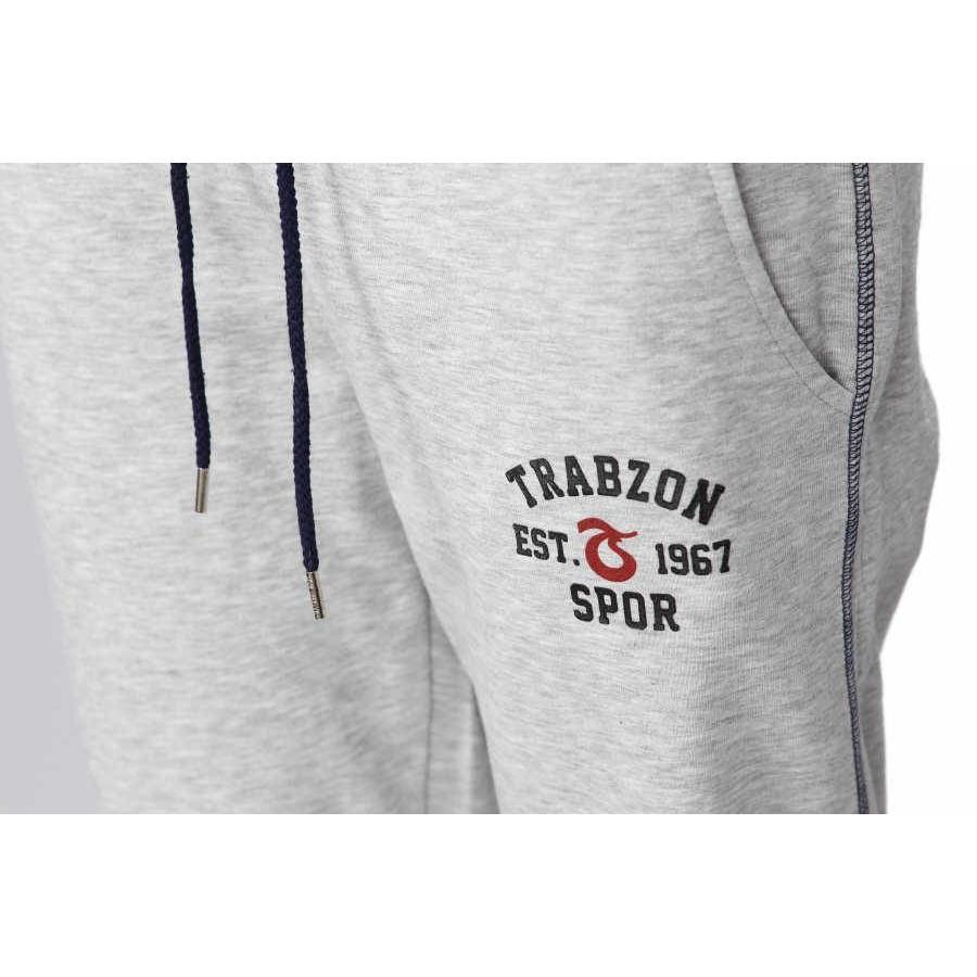 Trabzonspor Grau Melange Trainingshose
