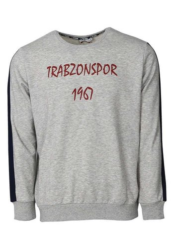 Trabzonspor Grau Melange Sweater