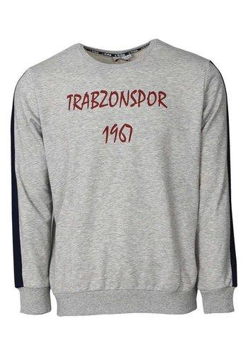 Trabzonspor Grey Melange Sweater