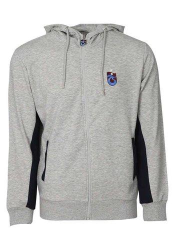 Trabzonspor Grijs-Melange Hooded Sweater