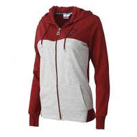 Trabzonspor Bordeaux Hooded Sweater met Rits